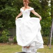 Stock Photo: Red-haired Bride