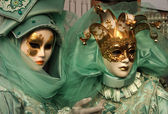 Masked ones, Venice — Stock Photo