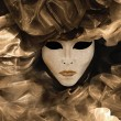Venetian mask collage - Stock Photo