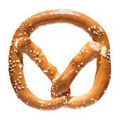Pretzel with salt — Stock Photo