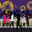 Royalty-Free Stock Vector Image: New Year Party Celebration