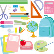School supplies — Stock Vector