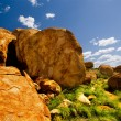 Stock Photo: Devils Marbles