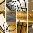 Sport Montage - Foto de Stock  