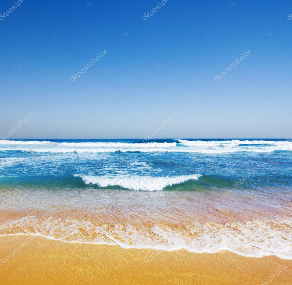 Gorgeous Beach on Australian Coastline — Stock Photo #5483670