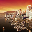 Stock Photo: Vancouver Harbour