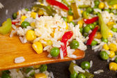 Pirinç salatası — Stok fotoğraf