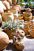 Pişmiş toprak vazo — Stok fotoğraf