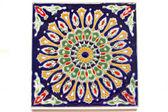 Ceramic panel,Authentic Vintage Mediterranean greek Ceramic Tile,Authentic — Stock Photo