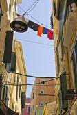 希腊的科孚岛市 (克) 的街道 — 图库照片