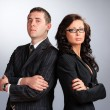 Two Business Partners — Stockfoto