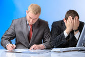 Two business men — Stock Photo