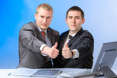 Two business men — Foto Stock