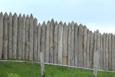 Ancient stockade — Stock Photo