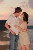 Romantický pár — Stock fotografie
