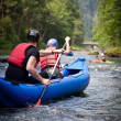 White water rafting — Stock Photo #6148542