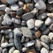 Background texture with round pebble stones — Stock Photo #6149214