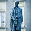 Tomas Garrigue Masaryk statue - Stock Photo