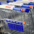 Royalty-Free Stock Photo: Supermatket trolleys (shallow DOF)