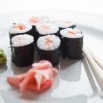 Sushi maki (color toned image; shallow DOF) — Stock Photo