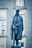 Tomas Garrigue Masaryk statue — Stock Photo