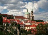 Prague, Czech republic - View od Hradcany with the splendid baro — Stock Photo