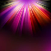 Background with Colorful LIGHT RAYS — Stock Photo