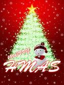 Cartão de natal felicitar — Foto Stock