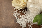 Bath salt — Stock Photo