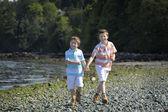 在海滩男孩 — 图库照片