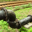 Water pipelines close-up. — Stock Photo #5555229