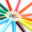 colour pencils — Stockfoto