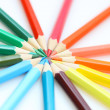 Crayons de couleur — Photo