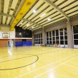 Perspective view of basketball court — Stock Photo #5700501