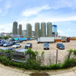 Stock Photo: Tuen Mun, Hong Kong downtown at day time