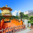 the pavilion of absolute perfection in the nan lian garden — Stock Photo #6289469