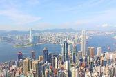 Hong Kong view at day time — Stock Photo