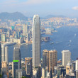 Hong Kong view at day time — Foto de Stock