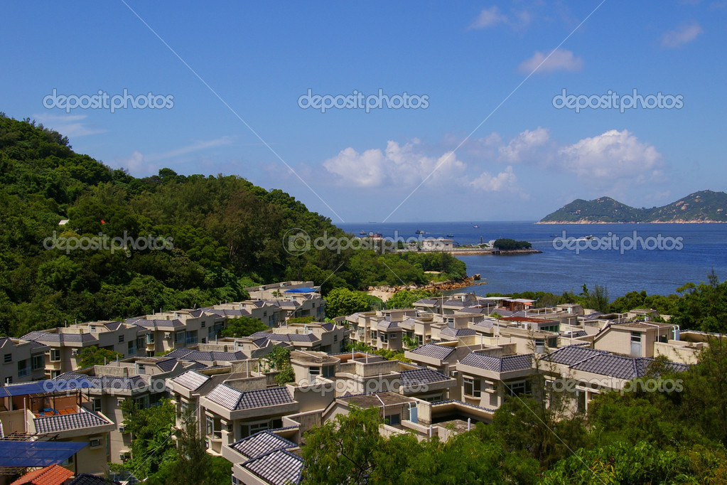It is one of the outlying island in Hong Kong.  Stock Photo #6377020