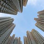 Hong Kong housing estate — Stock Photo #6436395
