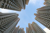 Hong Kong housing estate — Stock Photo