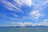 Beautiful seascape along the coastline in Hong Kong — Stock Photo
