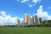 Tuen Mun downtown in Hong Kong — Stock Photo