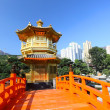the pavilion of absolute perfection in the nan lian garden — Stock Photo #6695697