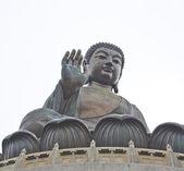 The Big Buddha in Hong Kong Lantau Island — Stock Photo
