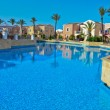 Mediterranean holiday resort — Stock Photo
