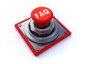 Faq button — Stock Photo