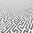 White infinity maze. — Stock Photo #6672202