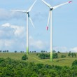 Green energy windmill generators ecology countryside — Stock Photo #6139026