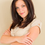 Business woman attractive casual portrait — Stock Photo